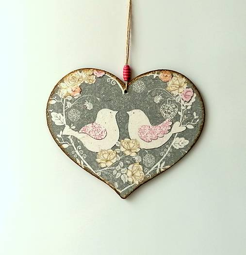 tabuľka na dvere holubičky ♥
