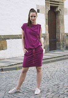 Šaty - Contrast (magenta) - 12008089_