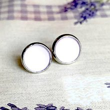 Náušnice - Color Stainless Steel Earrings / Farebné náušnice z chirurgickej ocele (03 Fialová svetlá) - 12012834_