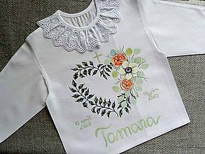 Detské oblečenie - Eukalyptová oranžová - 12011686_