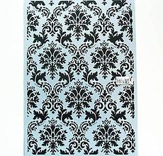 Pomôcky/Nástroje - Šablóna Stamperia - 20x30 cm - tapeta, tapetový vzor - 12013741_