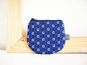 Peňaženky - Peňaženka - vzor modrotlač I - 12012458_