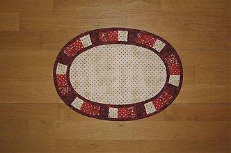 Úžitkový textil - Prestieranie bodkované - 12014034_