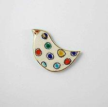 Odznaky/Brošne - TANA hand made jewellery - keramika/zlato - 12014421_