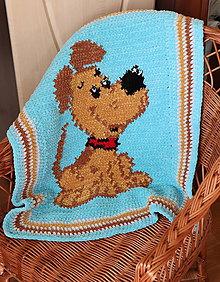 Textil - Deka psík - 12011752_