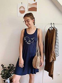 Šaty - upcyklované šaty - 12012277_