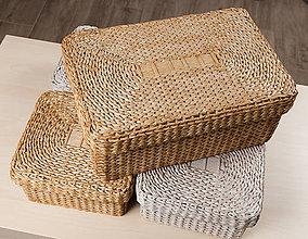 Krabičky - Krabičky s vrchnákom (veľkosť B - 37 x 24 x 15 cm ( s vrchnákom 39 x 26 x 16 cm)) - 12012382_