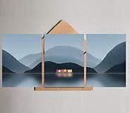 Grafika - Pohlednice - Skandinávské panorama - 12012372_