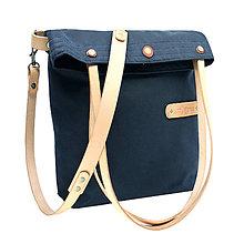 Veľké tašky - Dámská taška MARILYN BLUE 3 - 12012212_