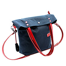 Veľké tašky - Dámská taška MARILYN BLUE - 12012243_