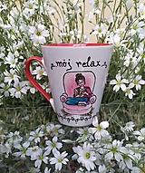 Nádoby - Výpredaj! Hrnček- môj relax :-) - 12013983_