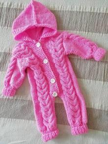 Detské oblečenie - Overal pre dievčatko - 12012257_
