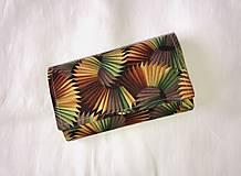 Peňaženky - Peňaženka - vejár - 12011879_