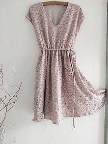Šaty - Mušelínové šaty - 12011831_