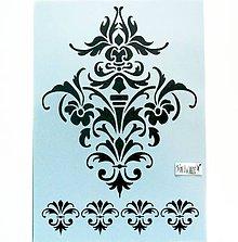 Pomôcky/Nástroje - Šablóna Stamperia - 20x30 cm - tapeta, ornament - 12015626_