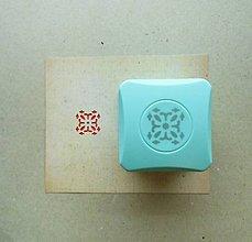 Pomôcky/Nástroje - Magnetická dierovačka na papier (ornament) - 12016659_
