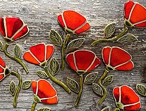 Dekorácie - Kvety - maky - 12016881_