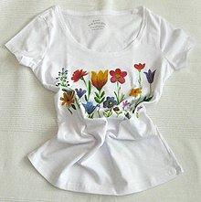 Tričká - Pestrosť v kvetoch - 12018442_