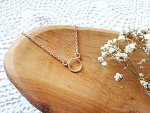 Náhrdelníky - Strieborný náhrdelník - 12017965_