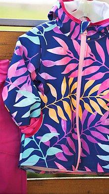 Detské oblečenie - Jesenná softshellová bundička v 98 - 12015889_