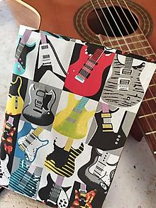 Papiernictvo - While My Guitar Gently Weeps..obal na knihu - 12018362_