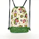 Detské tašky - Detský batoh s lienkami + rúško - 12017994_