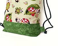 Detské tašky - Detský batoh s lienkami + rúško - 12017998_