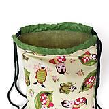 Detské tašky - Detský batoh s lienkami + rúško - 12017999_
