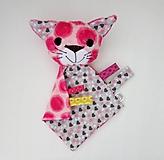 Hračky - Mojkáčik mačka - Mici zo Sivého srdiečkova - 12019030_