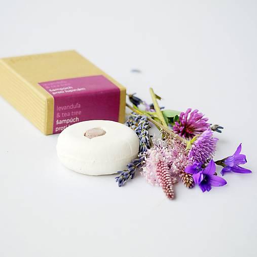Levanduľa & tea tree - šampúch® proti lupinám