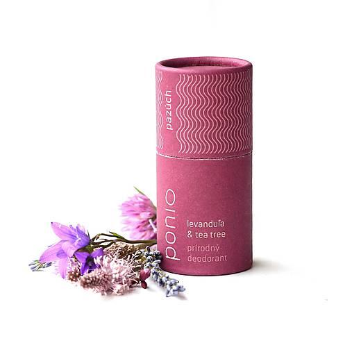 Levanduľa & tea tree - prírodný deodorant