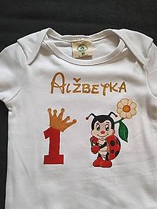 Detské oblečenie - Narodeninové body pre dievčatko - 12016141_