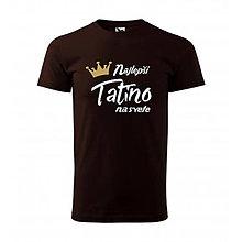 Oblečenie - Najlepší tatino na svete - pánske tričko pre otca - 12018323_