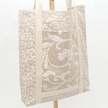 Nákupné tašky - Nákupná eko taška - ORNAMENT - 12018020_