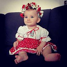 Detské oblečenie - Dievčenský kroj - 12017386_