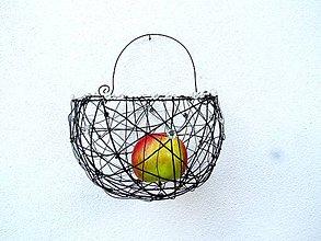 Košíky - Košík s kvapkami rosy - 12015549_