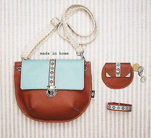 Mini leather collection no.8