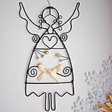 anjel s perličkami a mašľou