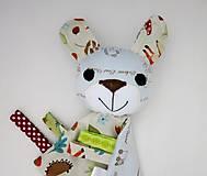 Hračky - Mojkáčik zajko - Zajačik zo Svetlého lesa - 12020854_