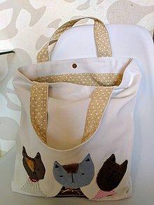 Veľké tašky - Kočky v meste - 12022282_
