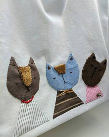 Veľké tašky - Kočky v meste - 12022283_
