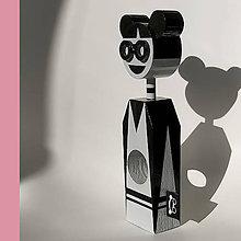 Dekorácie - Drevená bábika Máša - 12021751_