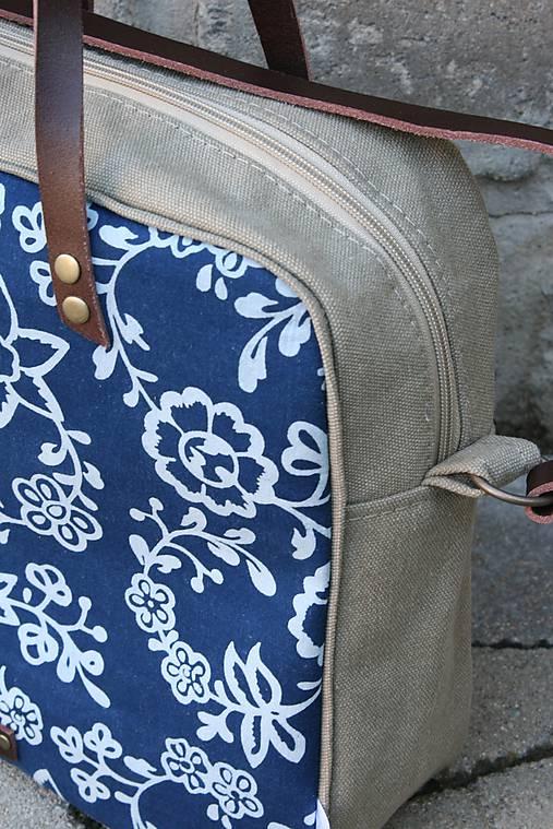 modrotlačová taška Laura 1