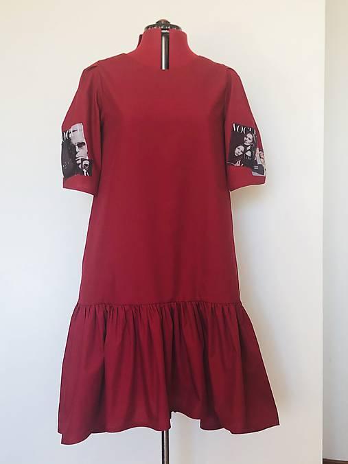 Šaty Hera bordové