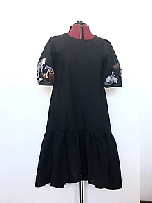 Šaty - Šaty Hera čierne - 12022557_