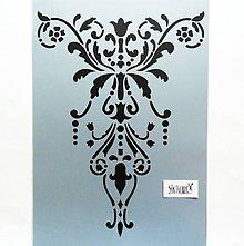 Pomôcky/Nástroje - Šablóna Stamperia - 20x30 cm - ornament, baroko - 12024161_