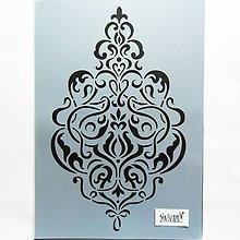 Pomôcky/Nástroje - Šablóna Stamperia - 20x30 cm - baroko, ornament - 12024495_