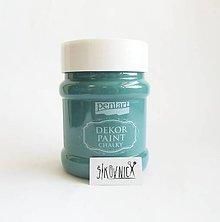 Farby-laky - Dekor paint soft - 230 ml (fľašková zelená) - 12025053_