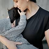 Šaty - Šaty Black Mama - 12024858_