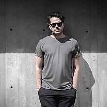 Tričká - Tričko Tencel Grey pre neho - 12025260_